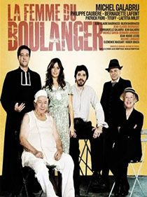 Film La Femme Du Boulanger Avec La Participation De Philippe Caubère.