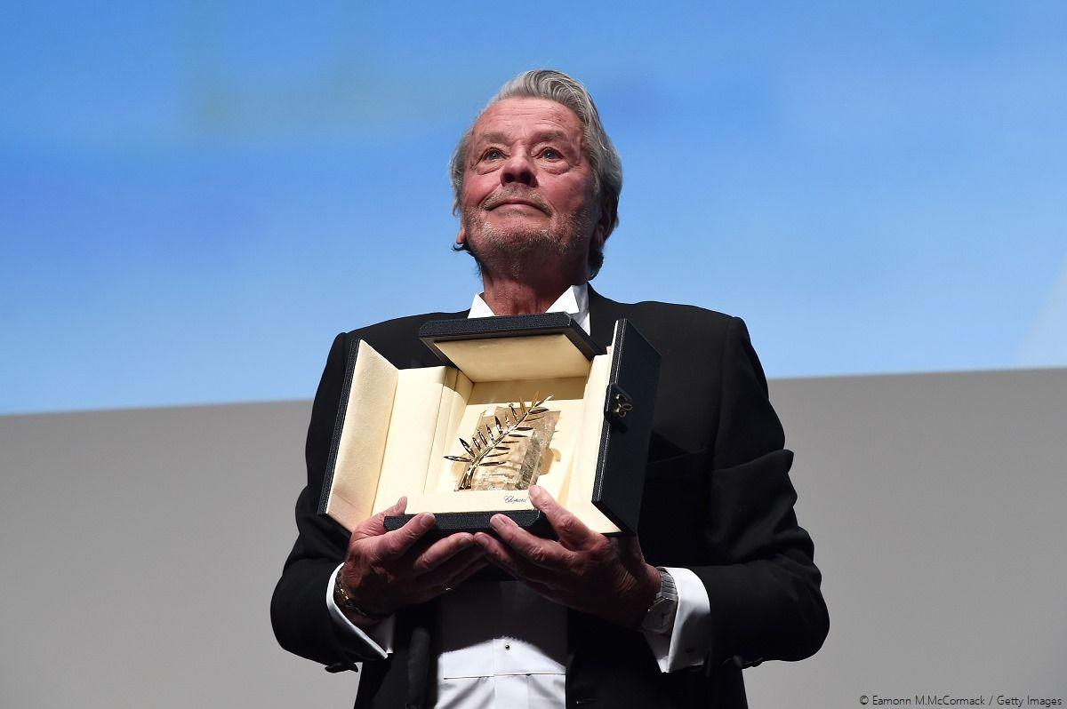 Remise De La Palme d'Or d'Honneur À Alain Delon Lors du Festival de Cannes 2019