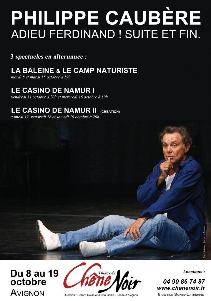 Adieu Ferdinand Suite Et FIn Au Théâtre Du Rond Point