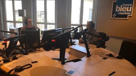 Interview De Philippe Caubère Au Micro de France Bleu Vaucluse et Nostaglie.