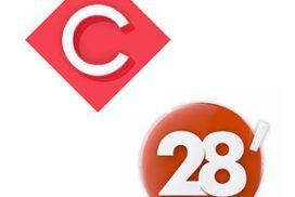 Émissions TV 28 Minutes et C À 5 avec Philippe Caubère.