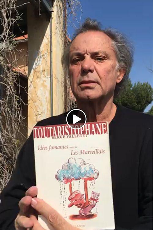 Présentation du livre Les Marseillais de Serge Valletti par Philippe Caubère qui relève le défi de la Librairie Théâtrale