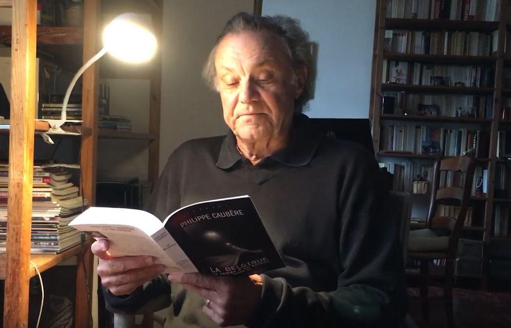 Lecture d'un extrait du livre La Belgique, le Roman d'un acteur II par Philippe Caubère sur