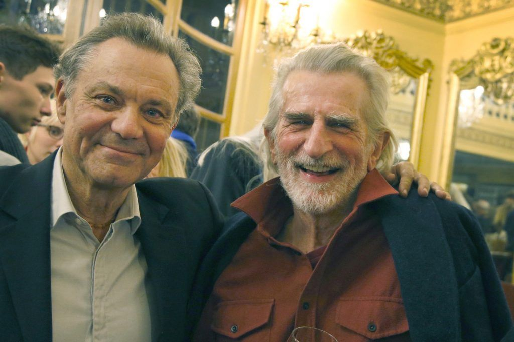 Hommage de Philippe Caubère à Gérard Hardy, décédé le 2 septembre, avait été l'un des co-fondateurs du Théâtre du soleil.